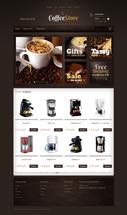 Готовый сайт Coffee store