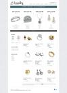 Шаблон для сайта ювелирки Jewelry store