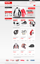 Онлайн магазин автомобильный Racing