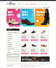 Open Shoes online store