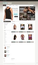 Дизайн для интернет-магазина Underwear