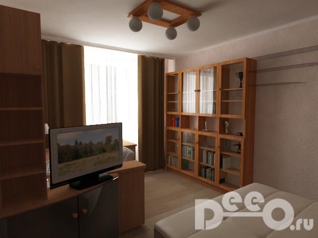 Визуализация комнаты взрослой дочери